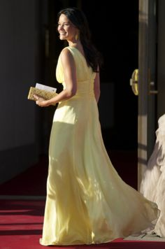 Sofia Hellqvist (Prince Carl Phillip girlfriend) arrive at a private dinner on the eve of the wedding of Princess Madeleine and Christopher O'Neill at The Grand Hotel on 7 June 2013 in Stockholm, Sweden