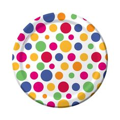 Party Dots Dessert Plates|Fast Shipping|8 per package
