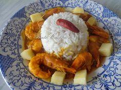 Caril de Camarão com Coco e Abacaxi | por Prato Caseiro | feito com o nosso piri-piri moído e o nosso piri-piri seco