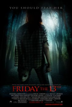 friday the 13th remake movie poster - Google Search