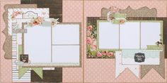Rustic Elegance two page layout (Medium)