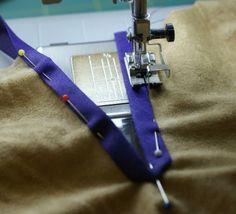 Tutorial hals ausschnitt mit Schrägband Ottobre ....