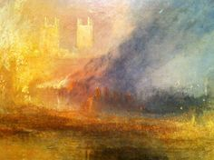 J. M. W. Turner - The Burning of the Houses of Lords and Commons (1835)