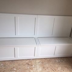 Banquette- Corner Bench Seat with Storage Drawers- Raw Unfinished Corner Bench Seating, Floating Tv Stand, Bench, Storage Bench Seating, Storage, Floating Shelves, Window Benches, Living Room Tv Wall, Storage Bench