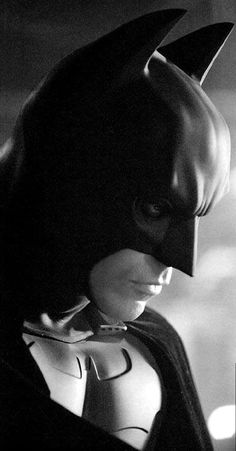 Christian Bale/Bruce Wayne: He will be known as THE Dark Knight for years to come.