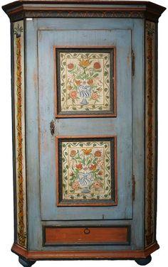 Bauernschrank (German folk art cupboard)