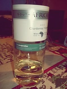 south african. chardonnay, 2012