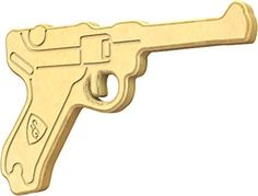 SturdiGuns Kids Luger Pistol Wooden Toy Gun with, Made in America, Extremely Durable Luger Pistol, Wood Toys, Made In America, Creative Kids, How To Introduce Yourself, German, Guns, Classic, Imagination