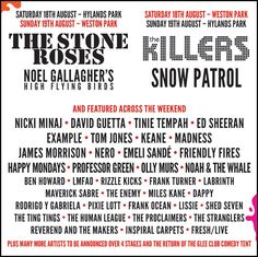 V festival 2012.... Stone roses and novel were particularly amazing x