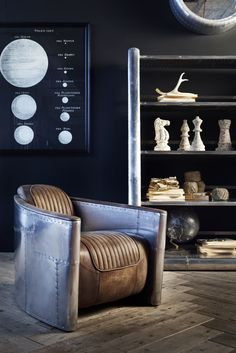Just bought these bookcases from Timothy Oulton - Great ideas for fulfilling metal shelves