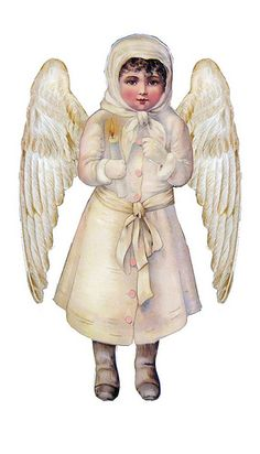 angel with different wings
