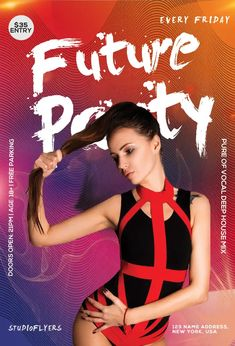 Download the Free Future Club Event Flyer Template! Booklet Design, Graphic Design Templates, Graphic Design Print, Free Psd Flyer Templates, Event Flyer Templates, Brochure Design Layouts, Fitness Flyer, Art Deco Wedding Invitations, Music Flyer