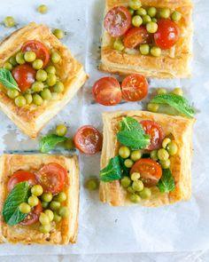 artichoke and feta tarts