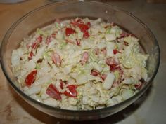 Zeleninový salát Potato Salad, Grains, Potatoes, Ethnic Recipes, Petra, Fitness, Recipies, Salads, Potato