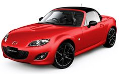 2012 Mazda MX 5 Miata Special Edition Velocity Red  - My Car!