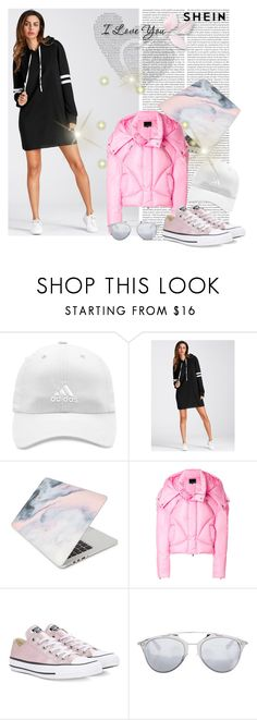 """Pink Style"" by esmeralda-341 ❤ liked on Polyvore featuring adidas, Recover, Chen Peng, Converse and Christian Dior"