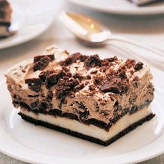 How to Make Delicious Diabetic Desserts Diabetic Dessert Recipes Diet Plans Healthy Diets by Diet Brownie Desserts, Köstliche Desserts, Low Carb Desserts, Delicious Desserts, Frozen Desserts, Summer Desserts, Diy Dessert, Oreo Dessert, Oreo Cake