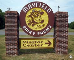 Mayfield Dairy Farm in Athens, TN. We will take a trip to the dairy farm to learn about what it takes to run a dairy farm this large!