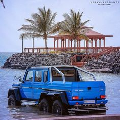 Mercedes-Benz G63 AMG 6x6 Appropriately Dubbed The Sea Monster