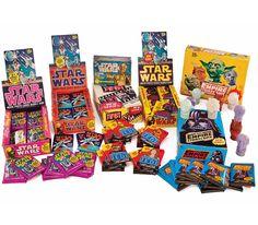 Star Wars bubble gum card packs