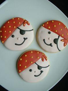 pirate cookie - cute :)