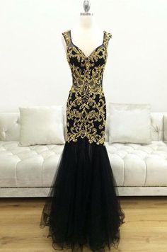 New Arrival Mermaid V-Neck Sequin Long Prom/Evening Dress