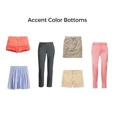 Accent Color Bottoms
