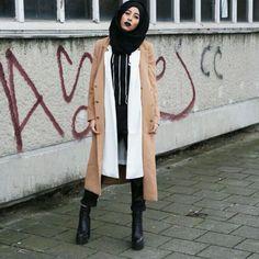 Hijab fashion | mipster muslim style