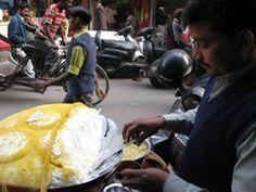 Daulat ka chaat or malai makkhan from Delhi streets!.
