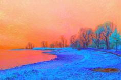 Winterimpressionen 1 Painting, Art, Art Background, Painting Art, Kunst, Paintings, Performing Arts, Painted Canvas, Drawings