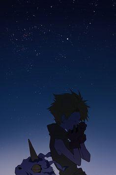 """Digimon Adventure: Yamato """"Matt"""" Ishida & Gabumon (旅立ちの空)"""