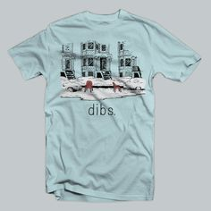 Dibs Parking Chicago TShirt by chitownclothing on Etsy, $19.99