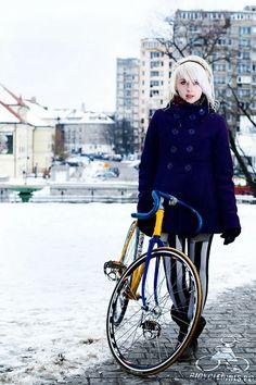 ポーランド美女と自転車をモチーフにしたハイクオリティー写真サイト「bicyclegirls.pl」 - DNA