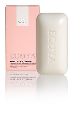 ECOYA Soap - Sweet Pea & Jasmine  http://www.ecoya.com/