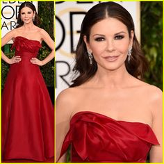 2015 Red Carpet Katherine Zeta | ... Globes 2015! | 2015 Golden Globes, Catherine Zeta Jones : Just Jared
