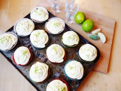 Cake Of The Week: Baking With Spirit: Tequila Slammer Cupcakes