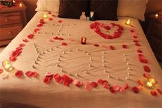 Check out www.romanceonthego.com for romantic ideas and their services. They bring romance to ANY space and place!