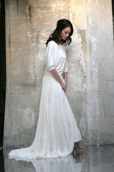 Collection Top True Romance - Bérengère Saint Pierre - Créatrice de robes de mariée à Paris