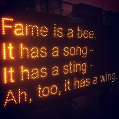 Marias Papadimitriou bright idea in Geometry of Ideas 2018 II Fame is a Bee poem by Emily Dickinson (1778).