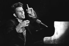Tom Waits: I never saw the morning 'til I stayed up all night / I never saw the sunshine 'til you turned out your love light, baby / I never saw my hometown 'til I stayed away too long / I never heard the melody until I needed the song