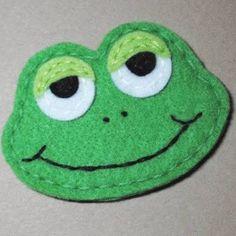 Resultado de imagem para felt frog