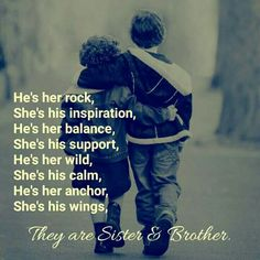 Best Brother Quotes And Sibling Sayings - BoostuplivingYou can find Brother sister quotes and more on our website.Best Brother Quotes And Sibling Sayings - Boostupliving Love My Brother Quotes, Brother Sister Love Quotes, Brother And Sister Relationship, Sister Quotes Funny, Brother And Sister Love, Quotes About Brothers, Bro Quotes, Missing My Brother, Asshole Quotes