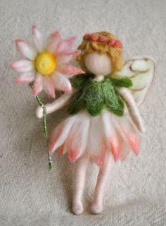 Flower Fairy Waldorf inspirierte Nadel Gefilzte von MagicWool