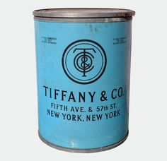 Tiffany & Co. shipping barrel from the 1920s