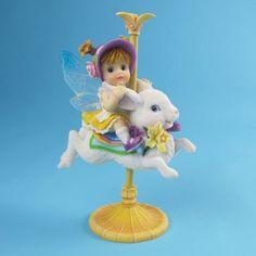 My Little Kitchen Fairies Spring Carousel Fairie - http://cutefigurines.net/my-little-kitchen-fairies/my-little-kitchen-fairies-spring-carousel-fairie/