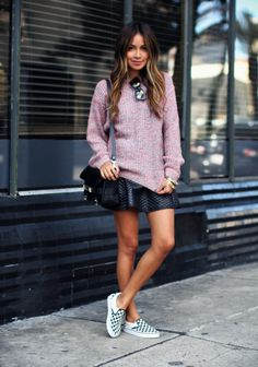 Skirts and Sneakers are a Trend—Here's How to Master it   StyleCaster