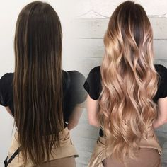 beautiful hair transformation