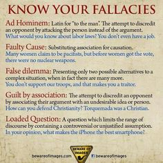 Fallacies in critical thinking. Logical fallacies are errors that occur in arguments. In logic, an argument is the giving of reasons (called premises) to support some claim (called the conclusion Writing Skills, Writing Tips, Writing Prompts, Essay Writing, Persuasive Essays, Start Writing, English Writing, Teaching English, Ap English