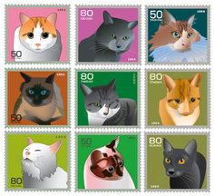Kitty Stamps