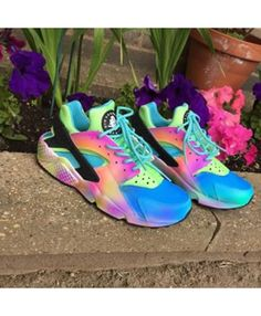Nike Air Huarache Run Ultra Rainbow Trainer Very light, very sensitive, very fine workmanship, welcome to our store to buy.